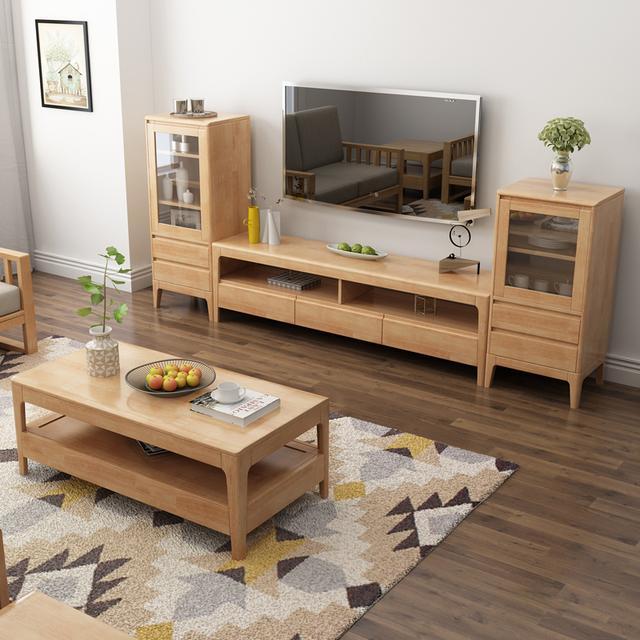 17年流行的电视柜,提高家的格调,一眼看中第四款 北欧茶几电视柜