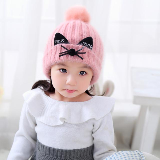 冬至天气,带宝宝出游必备婴儿帽,呆萌可爱,人见人夸