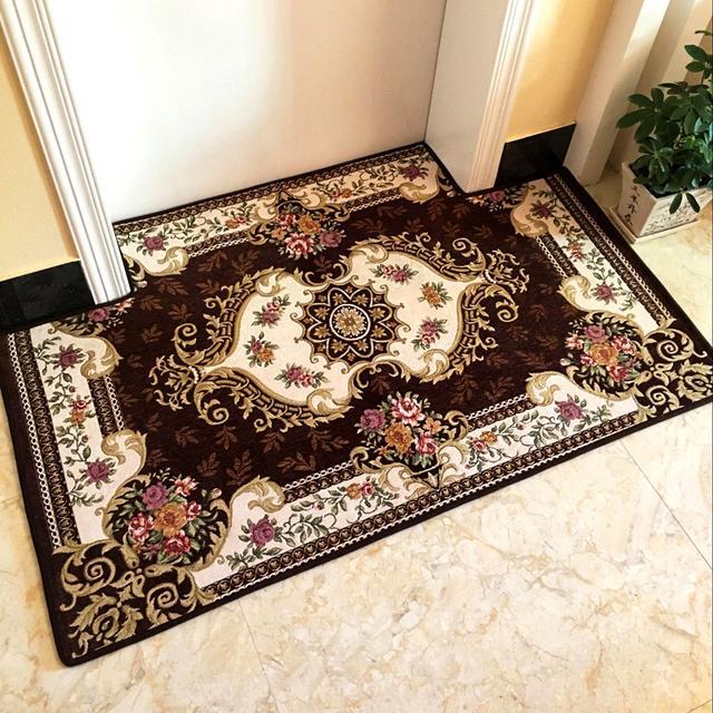 在家里摆上一个地垫,即好看耐脏,又显得非常大气