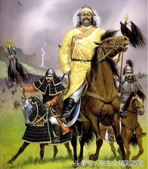 为了一个人,成吉思汗杀光全城人畜草木,毁城为平地,这个人是谁 - 东岳 - 东岳的博客