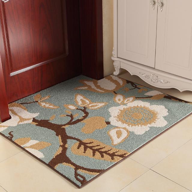 在门口放上这样的地毯,逼格高又耐脏,特别是第七个