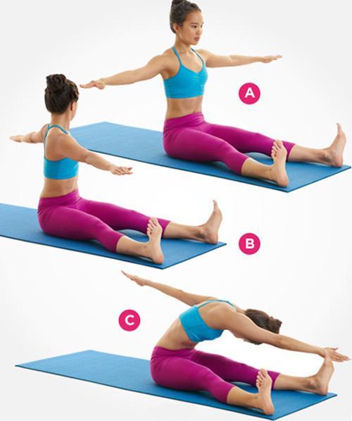 9个动作坚持一周快速瘦出小蛮腰