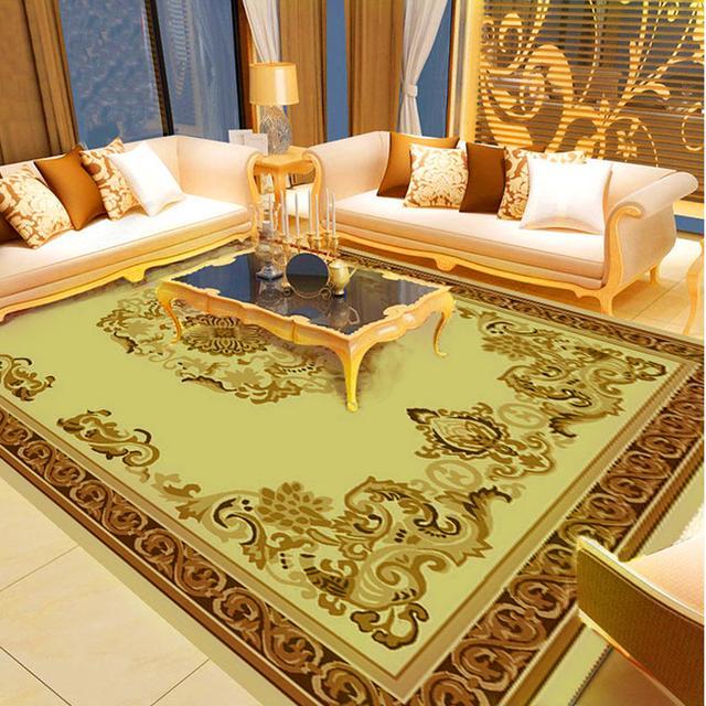 给家里铺上一块地毯,价钱不贵,就能显出奢华和档次