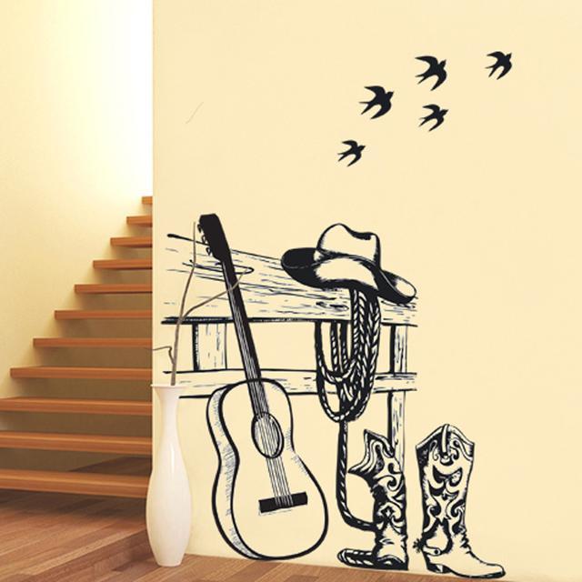 极具创意的墙贴不仅装点了房间,也让居家生活变得更精致