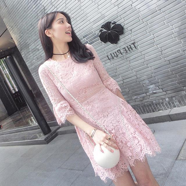 辣妈换季必备,连衣裙中的清流,纯色系也可以很美