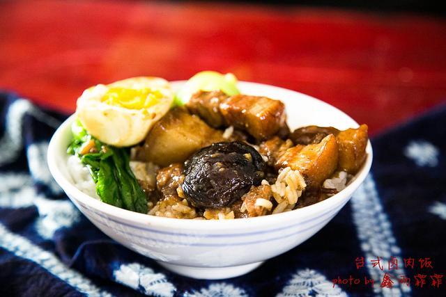 台湾古早味的国民小吃----台式卤肉饭