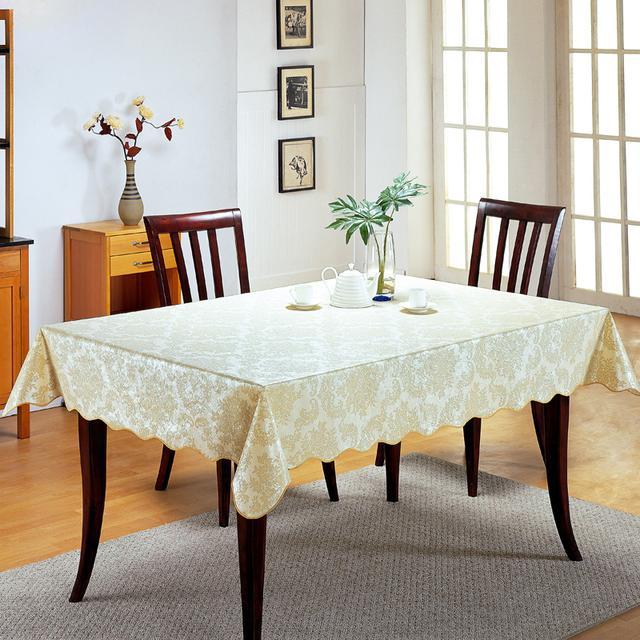 动不动就换餐桌太奢侈了!今年流行桌布,高端实用更有面子