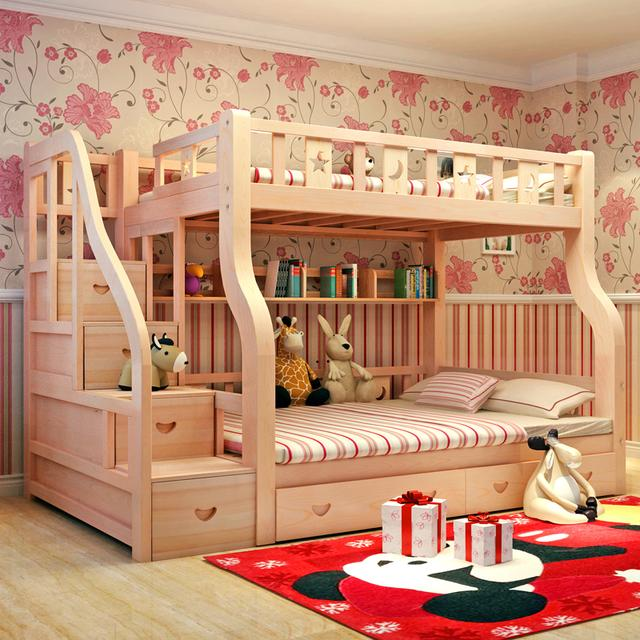 二胎时代到了,孩子都五六岁了,家里是时候准备一张子母床了