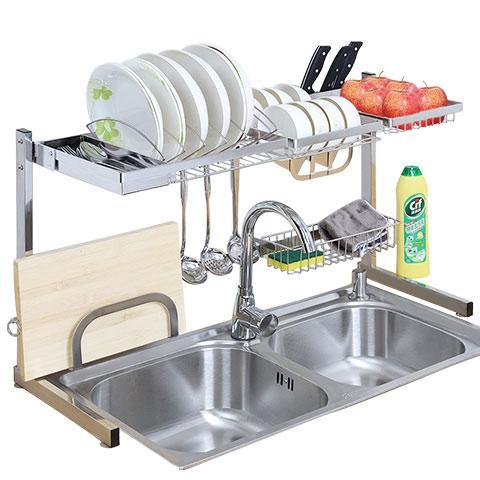 厨房沥水置物架,让你合理的利用空间,告别你的凌乱厨房