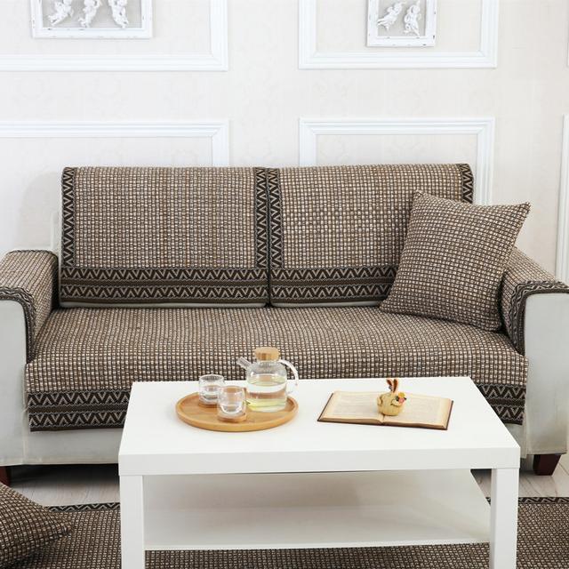沙发不容易清洗?这几款时尚的沙发垫,待客倍有面清洗容易