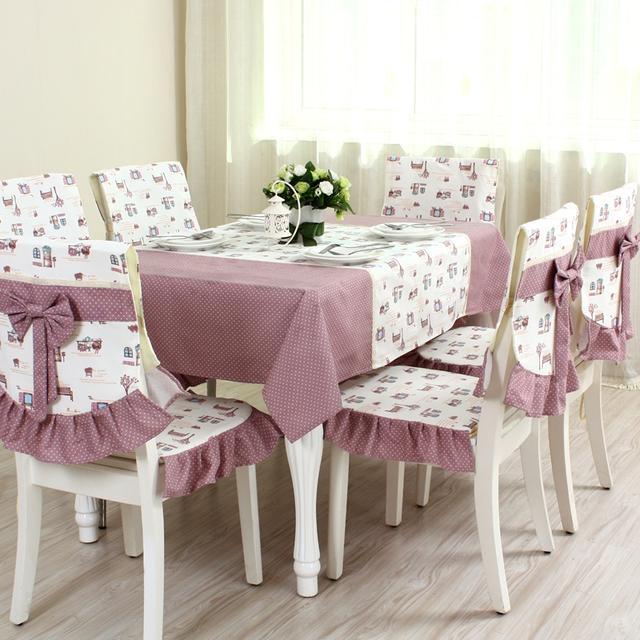 厌倦了桌面裸奔?精美的主妇用桌布提升餐桌美感,干净整洁有格调