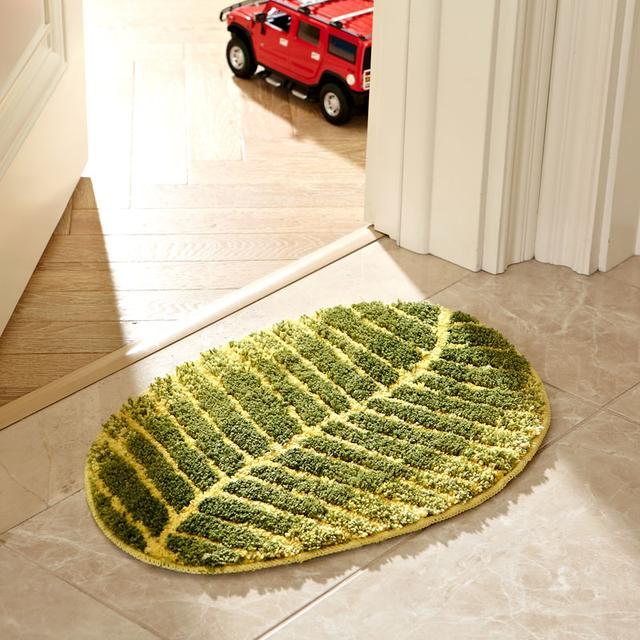 在玄关门口添置一块门厅地垫,美观又新潮,特别是第6款