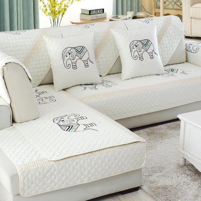 沙发颜值新风尚!这十款田园风沙发垫,实用美观,今年最流行