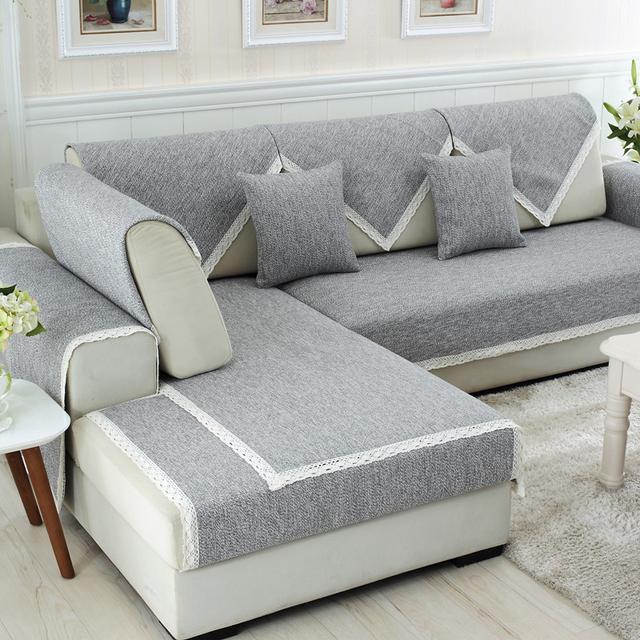 沙发过时不用换!几款新式沙发套让客厅焕然一新,聪明又省钱