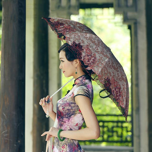 遮阳伞,不仅仅是遮阳挡雨防紫外线,更是美丽的代表,时尚的体现