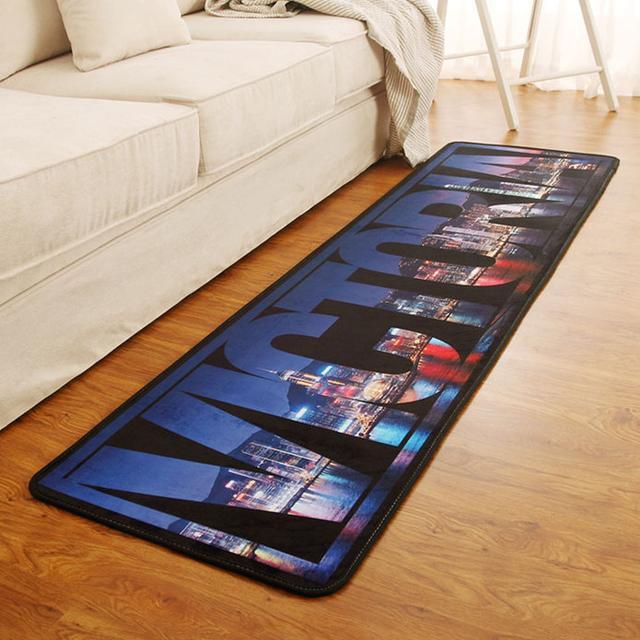 想打造时尚创意的客厅、卧室、厨房?一款地毯也可以做到