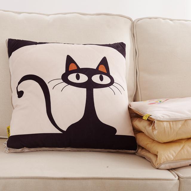总觉得沙发上空空的,就从网上买这几款抱枕,舒适美观还非常实用