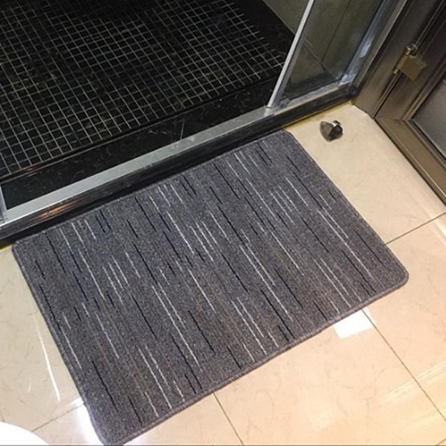 房间门口放上这8款地毯,吸水方便还美观,家庭主妇都选第8款