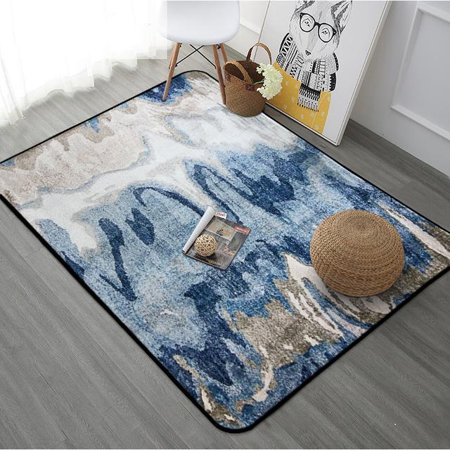 在客厅卧室放上这样几款地毯,耐脏又有档次,特别喜欢第六款