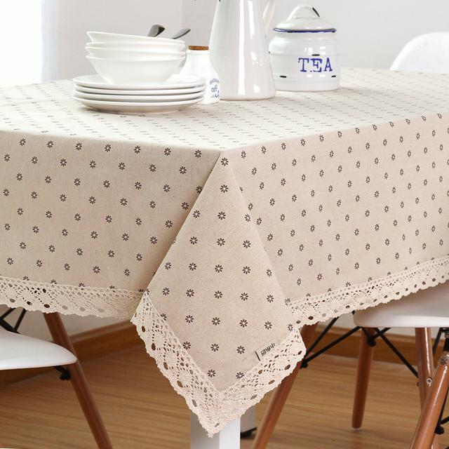8款布艺桌布,让更生活更有品质