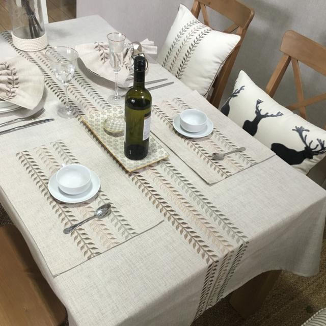 这些桌布简直美翻天了,颜值高还防水耐脏