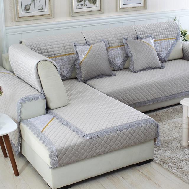 邻居看一眼就想跟着买的沙发套,不仅颜值高,而且防滑又耐用