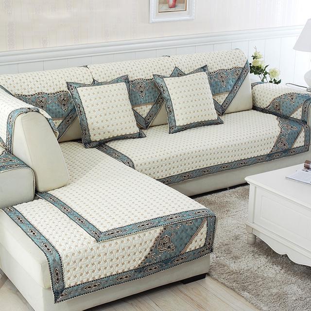 无论布艺还是皮质,聪明人定会套上这种沙发垫,给沙发全面呵护