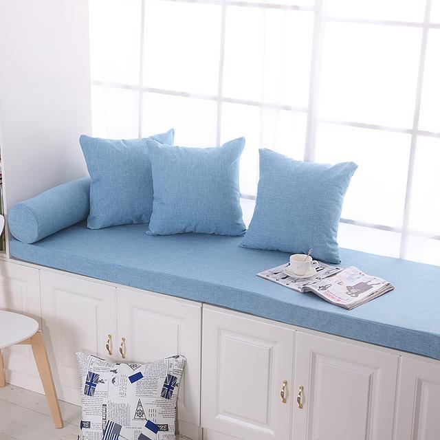 一款飘窗垫能让你体会到,充分利用每一寸空间的愉悦