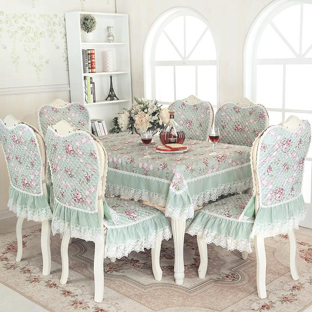 美仑精致的桌布椅套!让你倍有食欲感
