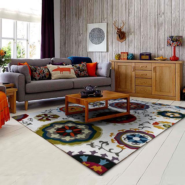 2017年流行高颜值地毯,营造温馨家庭氛围,还很舒适