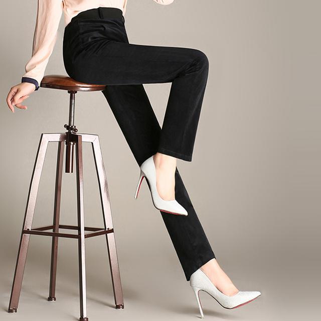 37岁-49岁的妈妈就别穿紧身裤了,这12款宽松休闲裤更显瘦