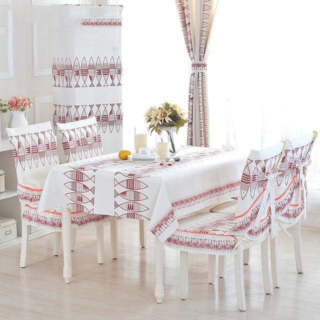 老式透明桌垫该换了,好看不贵的桌布今年特流行,餐桌都变高档