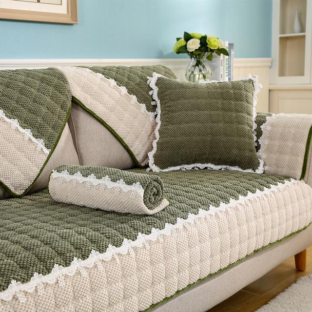 闺蜜说我家沙发光溜溜的好丑,于是我麻溜的去买了这8款沙发套