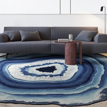 在家里放上这样几款地毯,耐脏又显档次,一眼相中3、6两款
