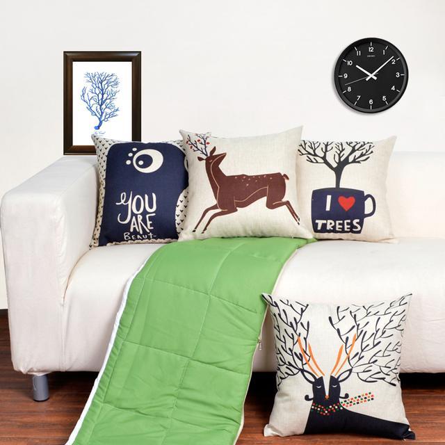 冷的时候是被子,累的时候是抱枕,抱枕被给你舒适的午休时间