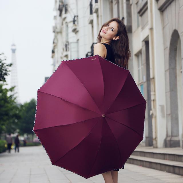 拥有一把伞,天空永远是一片晴朗