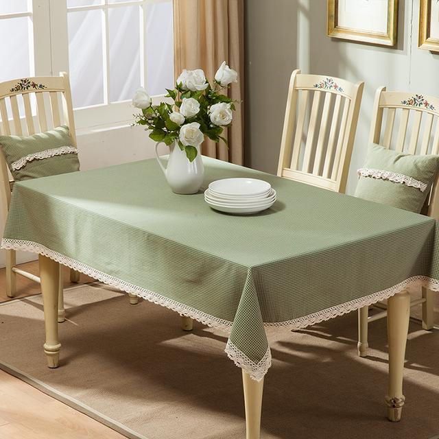 一款好看的布艺桌布,点亮就餐的心情