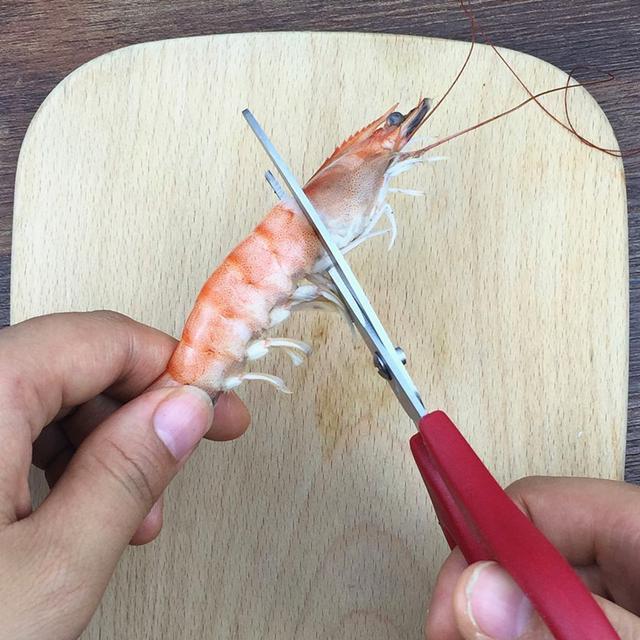 如果这几道虾你都吃过,那么你更加不能少了这把去虾线剪刀了