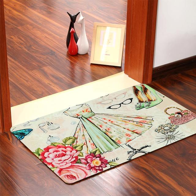门厅摆上这样的地垫,实用寓意又好,拒绝灰尘迈入家