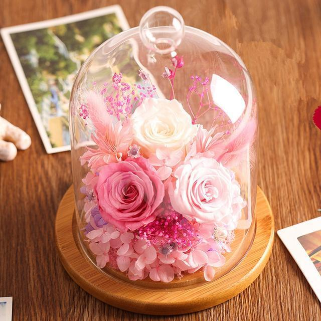 淡雅秀美的干花,让你享受鲜花的环绕,留住陪伴中最浪漫的时光