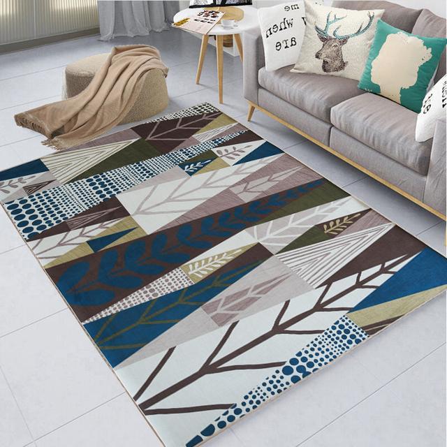 沙发处放一块地毯,舒适又实用,年轻人都喜欢坐