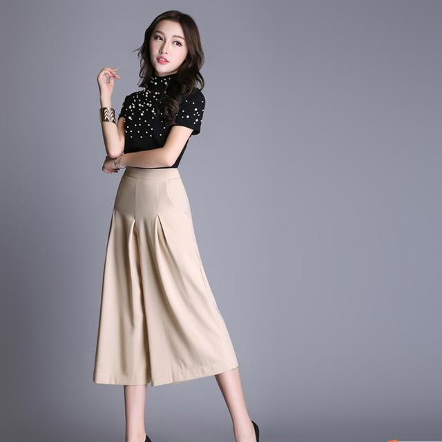 夏2017新款裙裤