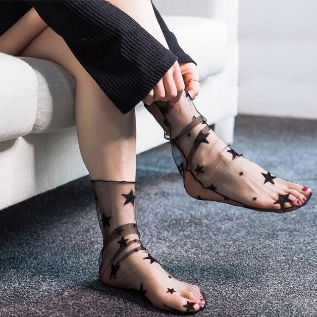 蕾丝袜网格性感丝袜