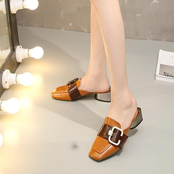 新款时尚包头拖鞋