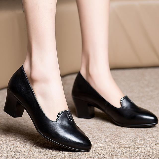 春季女士皮鞋