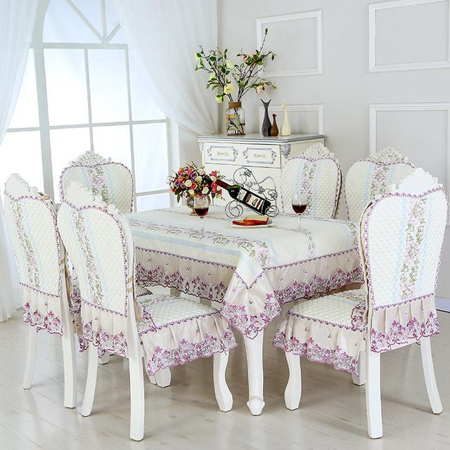 17年特流行这样的餐桌布,款款精美大气上档次,关键价格都不贵