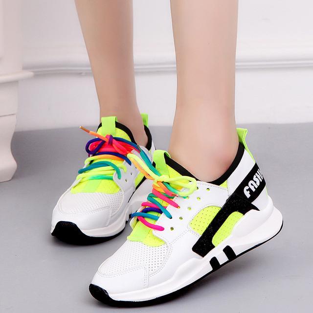 夏天网眼运动鞋健身跑步鞋