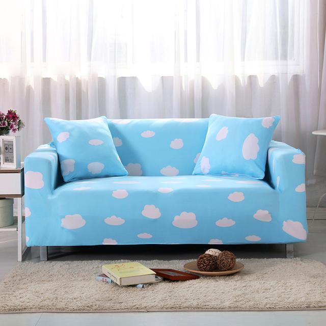 老式的沙发套已过时,现在正流行全包沙发套,旧沙发秒变新沙发