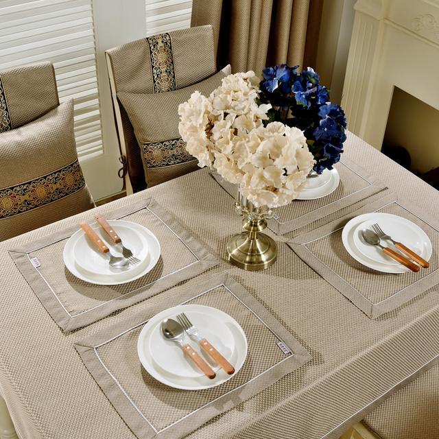 传统的餐桌布已经被淘汰了,新流行趋势的餐桌布即美观又提升品味