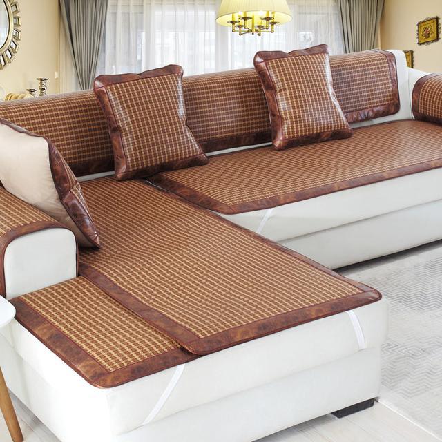 换沙发不划算?换个高端洋气的沙发垫,显档次又省钱